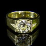 Szoliter gyűrű briliánsokkal