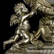 Barokk stílusú ezüst házioltár tükör