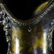 Francia empire ezüst boroskancsó