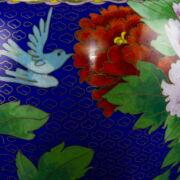 Nagy méretű rekeszzománcos kínai váza