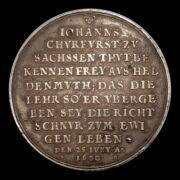 I. János György emlékérem az Ágostai hitvallás 100. évfordulójára
