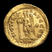 I. León bizánci császár - Arany solidus