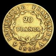 I. Napóleon 20 Frank 1806 A