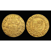 Luxemburgi Zsigmond magyar király aranyforint
