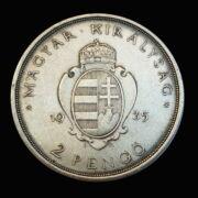 2 Pengő 1935 Pázmány Péter