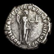 Commodus római császár ezüst denár