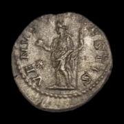 Julia Soemias római császárné (Kr.u. 218-222) ezüst denár - VENVS CAELESTIS