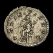 Otacilia Severa római császárné (Kr.u. 244-249) ezüst antoninianus - PVDICITIA AVG