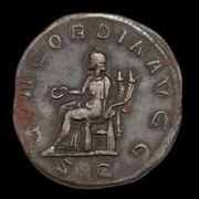 Otacilia Severa római császárné bronz sestertius