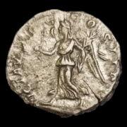 Septimius Severus római császár (Kr.u. 193-211) ezüst denár - VICT AVGG COS II P P