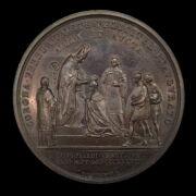 V. Ferdinánd bronz koronázási emlékérem