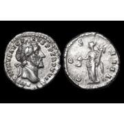 Római ezüst érme - Antoninus Pius ezüst denár