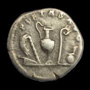 Római ezüst érme - Marcus Aurelius ezüst denár