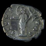 Római ezüst érme - Faustina ezüst denár