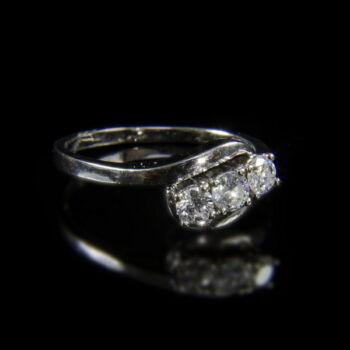 Alliance fazonú háromköves női gyűrű