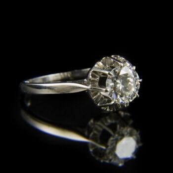 Eljegyzési gyűrű gyémánt kővel (1.75 ct)