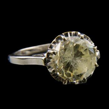 Szoliter briliáns gyűrű