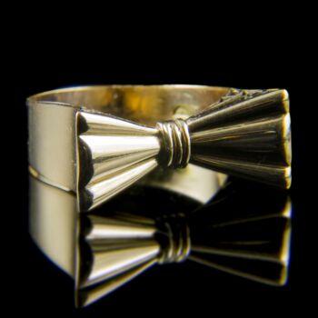 Masnis arany gyűrű