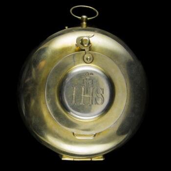 Aranyozott ezüst cibórium