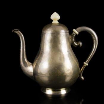 Bécsi ezüst kávéskanna