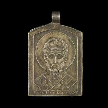 Ezüst Szent Miklós medál