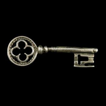 Ezüst mini kulcs