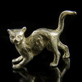 Ezüst mini macska