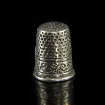 Mini ezüst gyűszű