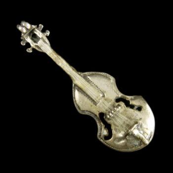Mini ezüst hangszer