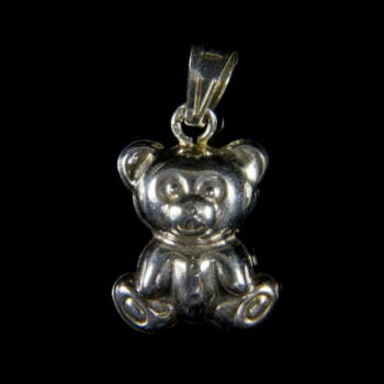 Mini ezüst maci medál