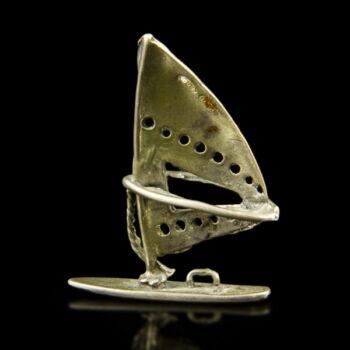 Mini ezüst szörf makett