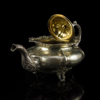 Orosz ezüst teáskanna