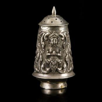 Thaiföldi ezüst sószóró