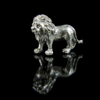 Mini ezüst oroszlán