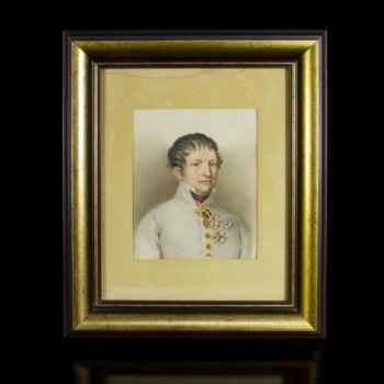 Osztrák katonatiszt portréja