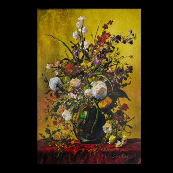 Siska Gyula (1958-) Virágcsendélet