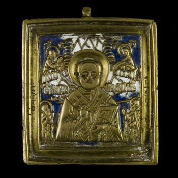 Úti ikon Szent Miklós