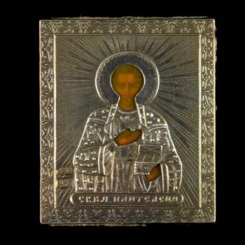 Úti ikon Szent Panteleon