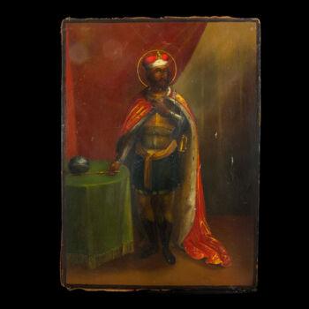 Ikon Alexander Nevsky képével