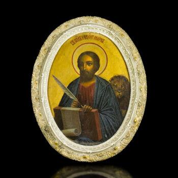 Ikon Szent Márk evangelista képével