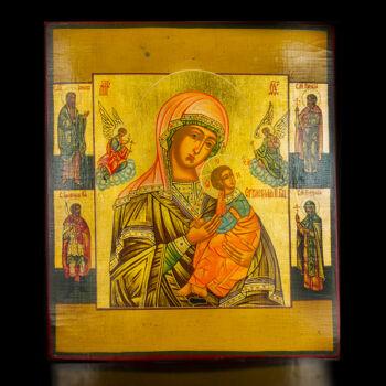 Istenanya négy szenttel ikon