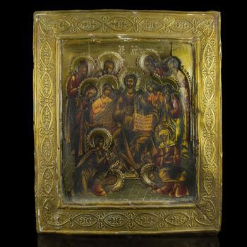 Jézus a tanítványokkal ikon