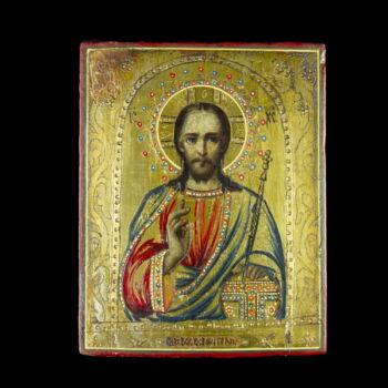 Ikon tanító Krisztus