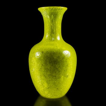 Jegecelt üveg váza