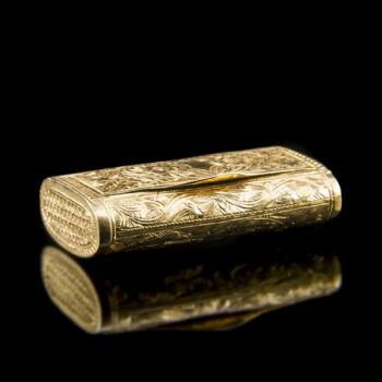 Arany gyógyszeres szelence