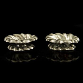 Ezüst fűszertartó pár