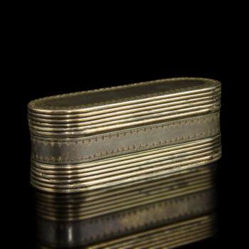 Antik ezüst gyógyszeres piperés szelence