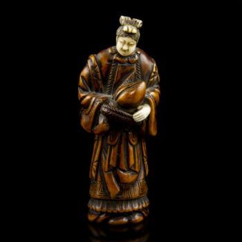 Netsuke Seibo figura