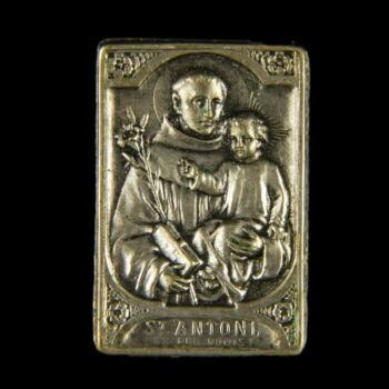 Szent Antal mini emlékplakett szuvenír