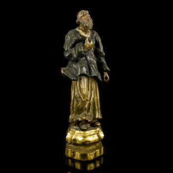 Szent Jakab fafaragás